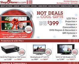 Shop At Home Network Newsletter